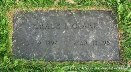CLARK, GRACE L - Adair County, Missouri | GRACE L CLARK - Missouri Gravestone Photos