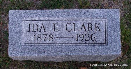 CLARK, IDA E - Adair County, Missouri | IDA E CLARK - Missouri Gravestone Photos