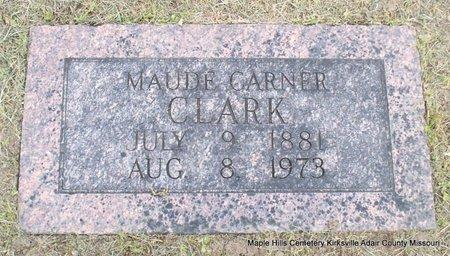 CLARK, MAUDE - Adair County, Missouri | MAUDE CLARK - Missouri Gravestone Photos