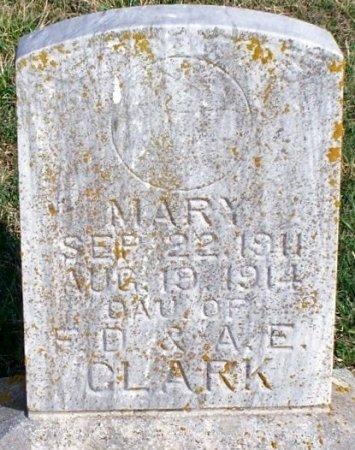 CLARK, MARY - Adair County, Missouri | MARY CLARK - Missouri Gravestone Photos