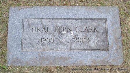 CLARK, OKAL FERN MCKEEHAN GROVES - Adair County, Missouri | OKAL FERN MCKEEHAN GROVES CLARK - Missouri Gravestone Photos
