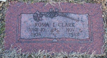CLARK, ROMA I - Adair County, Missouri | ROMA I CLARK - Missouri Gravestone Photos