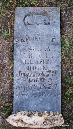 CLARK, SAMUEL E - Adair County, Missouri | SAMUEL E CLARK - Missouri Gravestone Photos