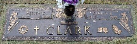 CLARK, GENEVA - Adair County, Missouri | GENEVA CLARK - Missouri Gravestone Photos