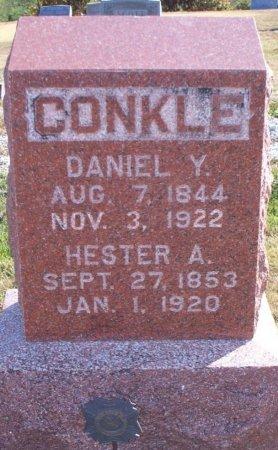 MILLER CONKLE, HESTER ANN - Adair County, Missouri | HESTER ANN MILLER CONKLE - Missouri Gravestone Photos