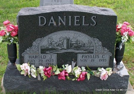 DANIELS, HAROLD J - Adair County, Missouri | HAROLD J DANIELS - Missouri Gravestone Photos