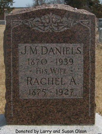 DANIELS, RACHEL A. - Adair County, Missouri | RACHEL A. DANIELS - Missouri Gravestone Photos
