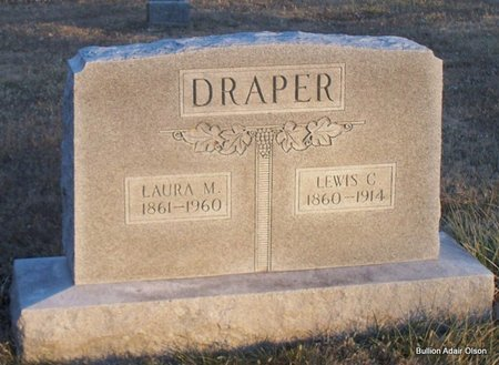DRAPER, LAURA MARGARET - Adair County, Missouri | LAURA MARGARET DRAPER - Missouri Gravestone Photos
