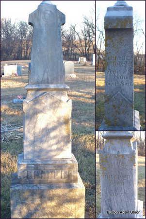 CHASE, ELIZABETH - Adair County, Missouri | ELIZABETH CHASE - Missouri Gravestone Photos