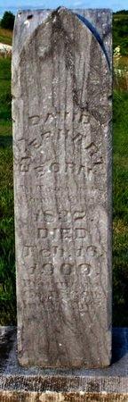 EVERHART, DAVID (VETERAN) - Adair County, Missouri   DAVID (VETERAN) EVERHART - Missouri Gravestone Photos