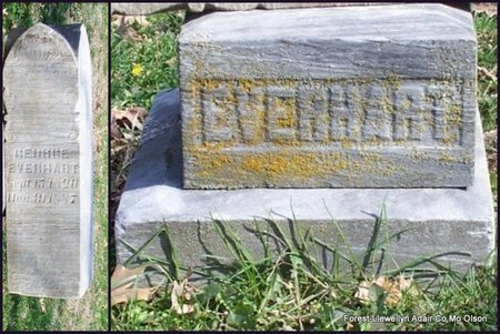 EVERHART, GEORGE - Adair County, Missouri   GEORGE EVERHART - Missouri Gravestone Photos