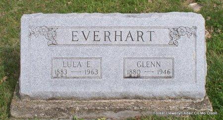 EVERHART, LULA ERMINE - Adair County, Missouri | LULA ERMINE EVERHART - Missouri Gravestone Photos