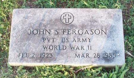 FERGASON, JOHN S. (VETERAN WWII) - Adair County, Missouri | JOHN S. (VETERAN WWII) FERGASON - Missouri Gravestone Photos