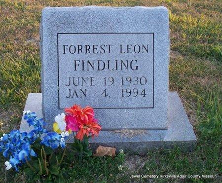 FINDLING, FORREST LEON - Adair County, Missouri | FORREST LEON FINDLING - Missouri Gravestone Photos