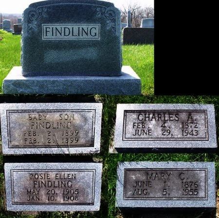 FINDLING, MARY CATHERINE - Adair County, Missouri | MARY CATHERINE FINDLING - Missouri Gravestone Photos