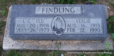 "FINDLING, L C ""TED"" - Adair County, Missouri 