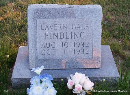 FINDLING, LAVERN GALE - Adair County, Missouri | LAVERN GALE FINDLING - Missouri Gravestone Photos