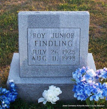 FINDLING, ROY JUNIOR - Adair County, Missouri | ROY JUNIOR FINDLING - Missouri Gravestone Photos