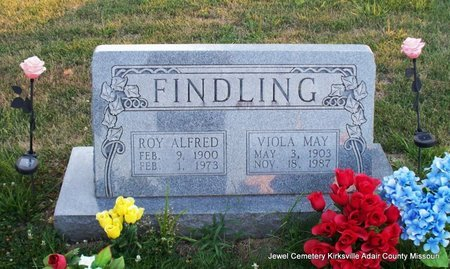 FINDLING, VIOLA MAY - Adair County, Missouri | VIOLA MAY FINDLING - Missouri Gravestone Photos