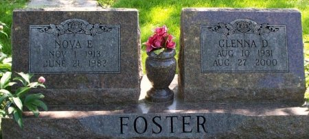 FOSTER, NOVA EUGENE - Adair County, Missouri | NOVA EUGENE FOSTER - Missouri Gravestone Photos