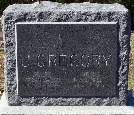WOODARD GREGORY, MARTHA BELLE - Adair County, Missouri | MARTHA BELLE WOODARD GREGORY - Missouri Gravestone Photos