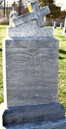 YAGER HARDEY, SARAH ANN - Adair County, Missouri | SARAH ANN YAGER HARDEY - Missouri Gravestone Photos