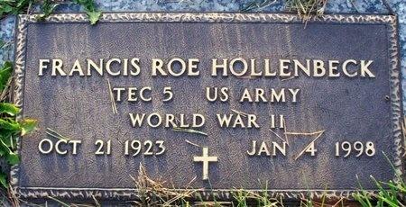 HOLLENBECK, FRANCIS ROE (VETERAN WWII) - Adair County, Missouri | FRANCIS ROE (VETERAN WWII) HOLLENBECK - Missouri Gravestone Photos