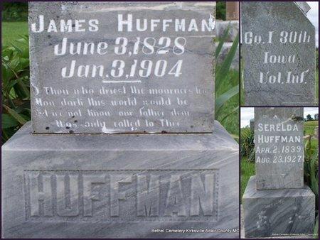 HUFFMAN, JAMES (VETERAN UNION) - Adair County, Missouri | JAMES (VETERAN UNION) HUFFMAN - Missouri Gravestone Photos