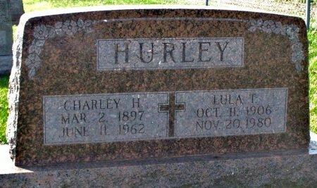 BYRN HURLEY, LULA TANZIE - Adair County, Missouri | LULA TANZIE BYRN HURLEY - Missouri Gravestone Photos