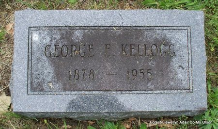 KELLOGG, GEORGE E - Adair County, Missouri | GEORGE E KELLOGG - Missouri Gravestone Photos