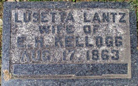 KELLOGG, LUSETTA ELIZABETH - Adair County, Missouri | LUSETTA ELIZABETH KELLOGG - Missouri Gravestone Photos