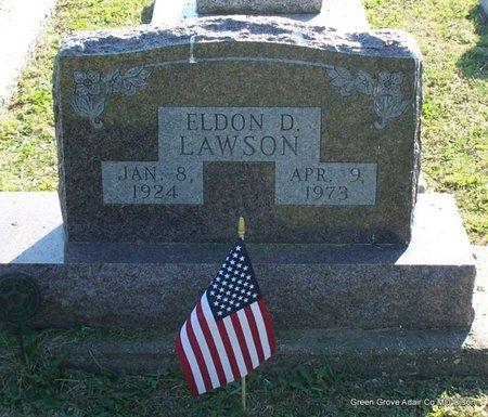 LAWSON, ELDON D - Adair County, Missouri   ELDON D LAWSON - Missouri Gravestone Photos