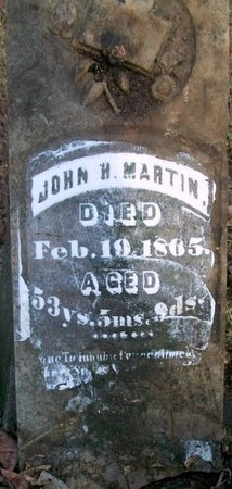 MARTIN, JOHN H - Adair County, Missouri | JOHN H MARTIN - Missouri Gravestone Photos