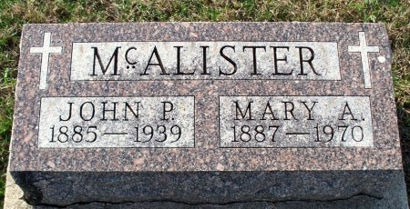 FARLEY MCALISTER, MARY ANN - Adair County, Missouri | MARY ANN FARLEY MCALISTER - Missouri Gravestone Photos