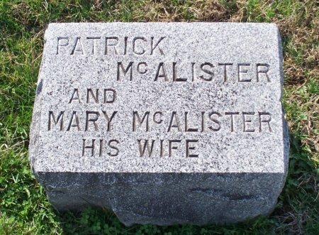 HAMILTON MCALISTER, MARY - Adair County, Missouri | MARY HAMILTON MCALISTER - Missouri Gravestone Photos
