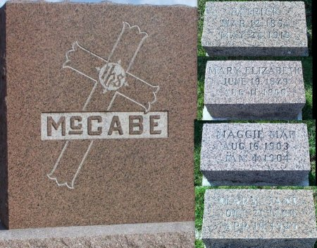 MCCABE, PATRICK - Adair County, Missouri | PATRICK MCCABE - Missouri Gravestone Photos