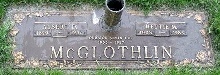 MCGLOTHLIN, ALVIN LEE - Adair County, Missouri | ALVIN LEE MCGLOTHLIN - Missouri Gravestone Photos