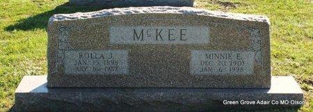 MCKEE, ROLLA J - Adair County, Missouri | ROLLA J MCKEE - Missouri Gravestone Photos
