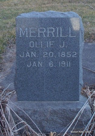 MERRILL, OLLIE J - Adair County, Missouri | OLLIE J MERRILL - Missouri Gravestone Photos