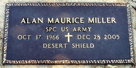 MILLER, ALAN MAURICE (VETERAN DS) - Adair County, Missouri | ALAN MAURICE (VETERAN DS) MILLER - Missouri Gravestone Photos
