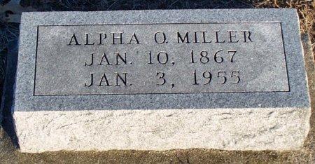 MILLER, ALPHA O. - Adair County, Missouri   ALPHA O. MILLER - Missouri Gravestone Photos