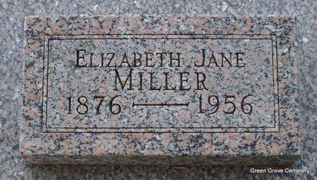 MILLER, ELIZABETH JANE - Adair County, Missouri | ELIZABETH JANE MILLER - Missouri Gravestone Photos