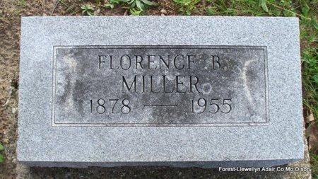 MILLER, FLORENCE - Adair County, Missouri   FLORENCE MILLER - Missouri Gravestone Photos