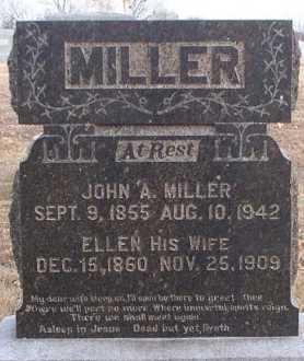 MILLER, JOHN ADAMS - Adair County, Missouri | JOHN ADAMS MILLER - Missouri Gravestone Photos