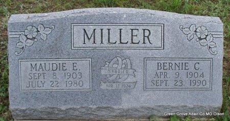 MILLER, MAUDIE E - Adair County, Missouri | MAUDIE E MILLER - Missouri Gravestone Photos