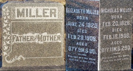 MILLER, EVA ELIZABETH - Adair County, Missouri | EVA ELIZABETH MILLER - Missouri Gravestone Photos