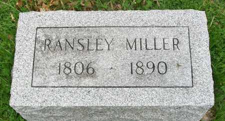 MILLER, RANSLEY - Adair County, Missouri   RANSLEY MILLER - Missouri Gravestone Photos