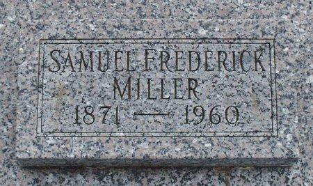 MILLER, SAMUEL FREDRICK - Adair County, Missouri | SAMUEL FREDRICK MILLER - Missouri Gravestone Photos