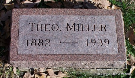 MILLER, THEO - Adair County, Missouri | THEO MILLER - Missouri Gravestone Photos