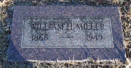 MILLER, WILLIAM HENRY - Adair County, Missouri   WILLIAM HENRY MILLER - Missouri Gravestone Photos